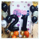 Safari Themed Balloon Number Package